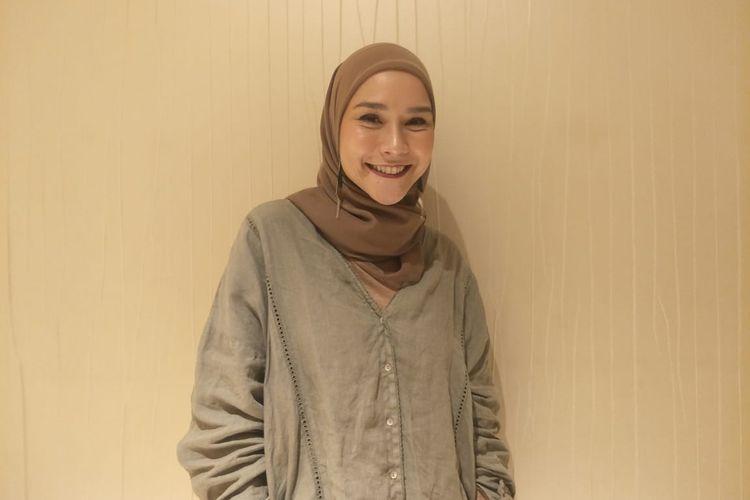 Zaskia Adta Mecca saat ditemui di kawasan Menteng, Jakarta Pusat, Senin (14/10/2019).