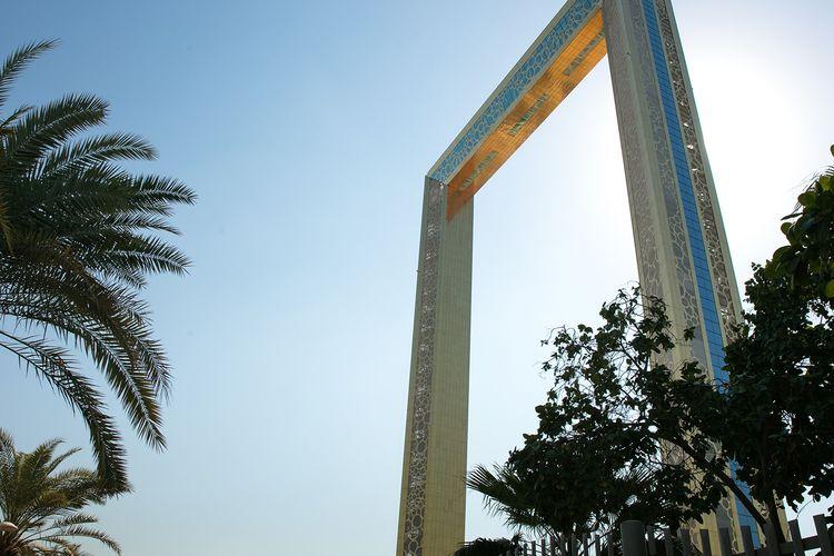Tempat wisata di Uni Emirat Arab - Dubai Frame.