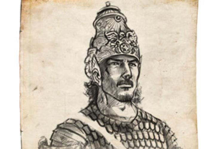 Ilustrasi Raja Purnawarman dari Kerajaan Tarumanegara