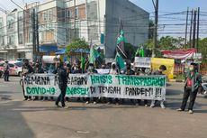Minta Transparansi Anggaran Penanganan Covid-19, Mahasiswa Demo di Gedung Pemkot Tangsel