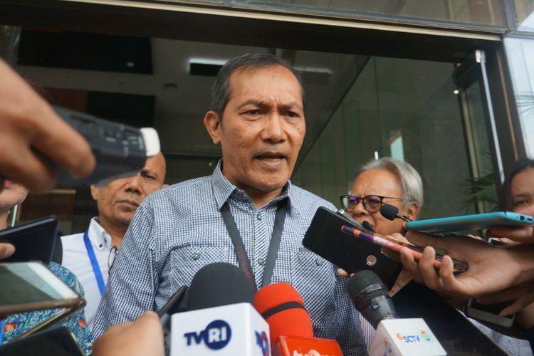 Wakil Ketua KPK Saut Situmorang di Gedung Merah Putih KPK, Jumat (15/11/2019).