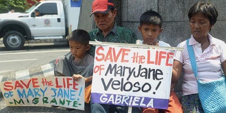 Keluarga Mary Jane Veloso.