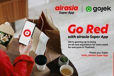 Demi SuperApp, AirAsia Caplok Bisnis Gojek di Thailand