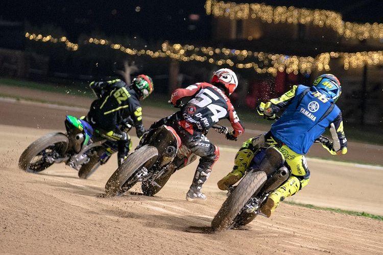 Valentino Rossi dan VR46 Riders Academy latihan di Motor Ranch