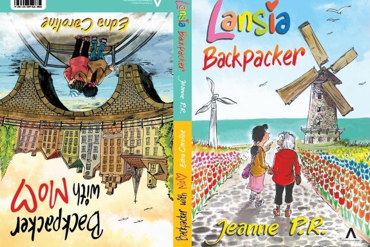Buku 2 in 1 Lansia Backpacker dan Backpacker with Mom.