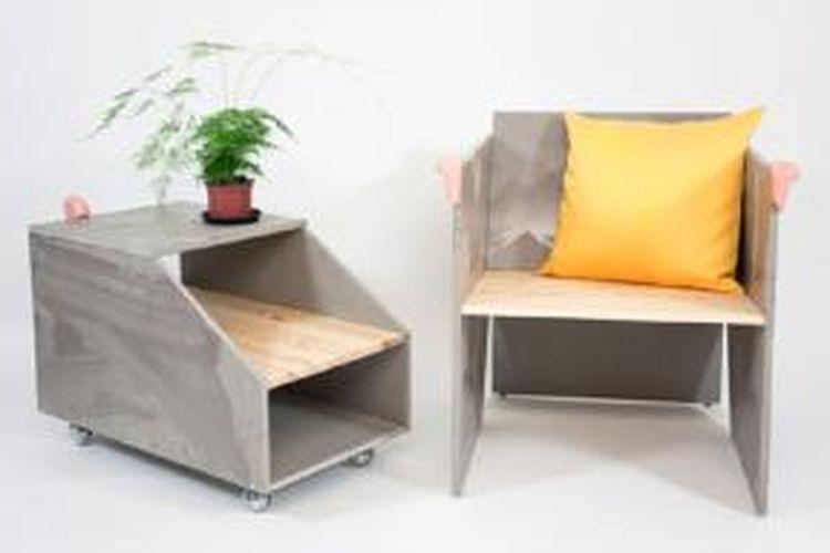 Salah satu koleksi furnitur karya Jenny Nordberg.