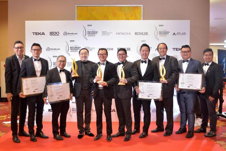 Triniti Land sabet empat penghargaan di Indonesia Proeprty Awards 2019, Kamis (19/9/2019).