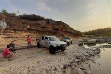 Dijamin Seru, Menyusuri Sungai Oya yang Mengering
