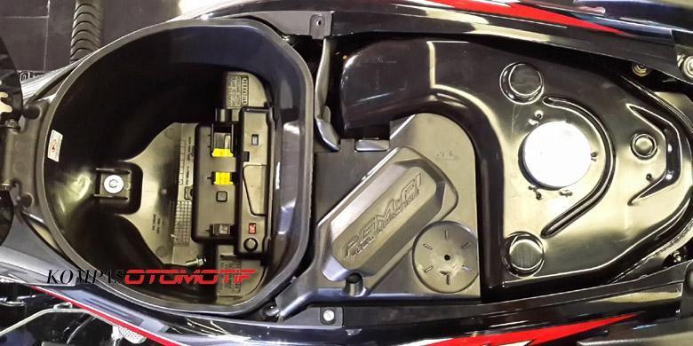 Tangki bensin dan bagasi Revo FI