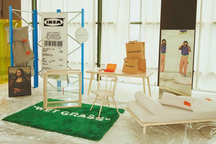 Sederet kreasi kolaborasi IKEA dan Virgil Abloh.