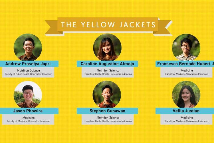 mahasiswa Fakultas Kesehatan Masyarakat (FKM) dan Fakultas Kedokteran (FK) Universitas Indonesia (UI) yang tergabung dalam tim The Yellow Jackets meraih juara pertama dalam ajang Virtual Case Competition - APRU Global Health Conference 2020, yang berlangsung pada 19-21 Oktober di Shanghai, Cina.