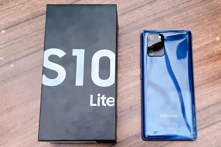 Samsung merilis smartphone Galaxy S10 Lite ke pasar Indonesia mulai 21 Februari 2020.