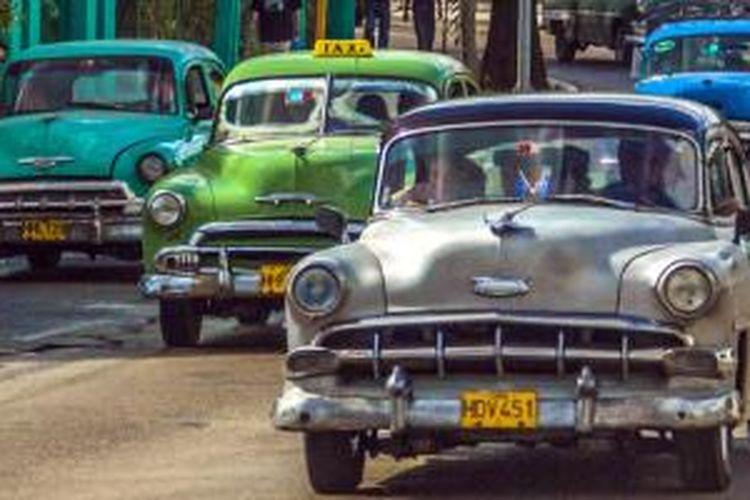 Mobil tua di Havana, Kuba