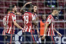 Hasil dan Klasemen Liga Spanyol: Atletico Gusur Real Madrid, Barca?