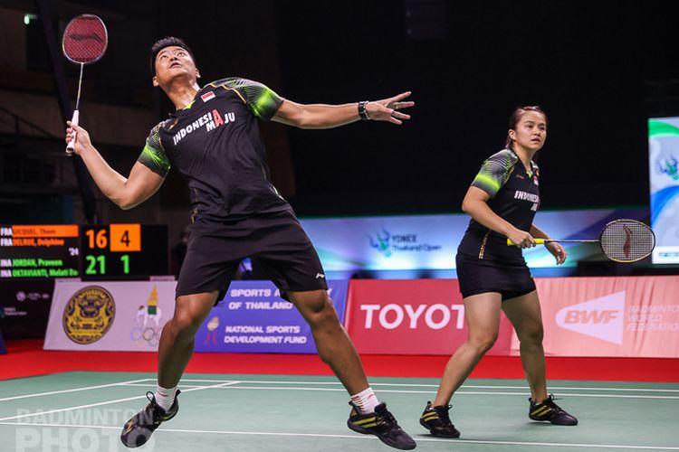 Pasangan ganda campuran andalan Indonesia, Praveen Jordan/Melati Daeva Oktavianti, melangkah ke partai final Thailand Open 2021.