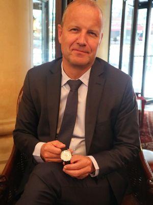 CEO Mido Watch, Franz Linder.