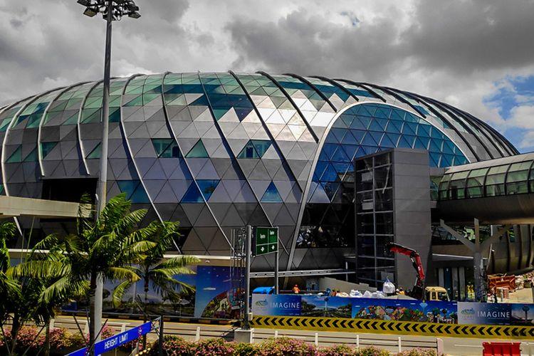 Jewel Changi Airport Singapura.