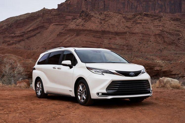 Toyota Sienna generasi keempat resmi meluncur di Amerika Serikat.