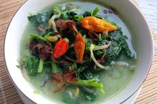 Resep Sayur Bobor Bayam Labu Putih, Sajikan Pakai Sambal Kelapa