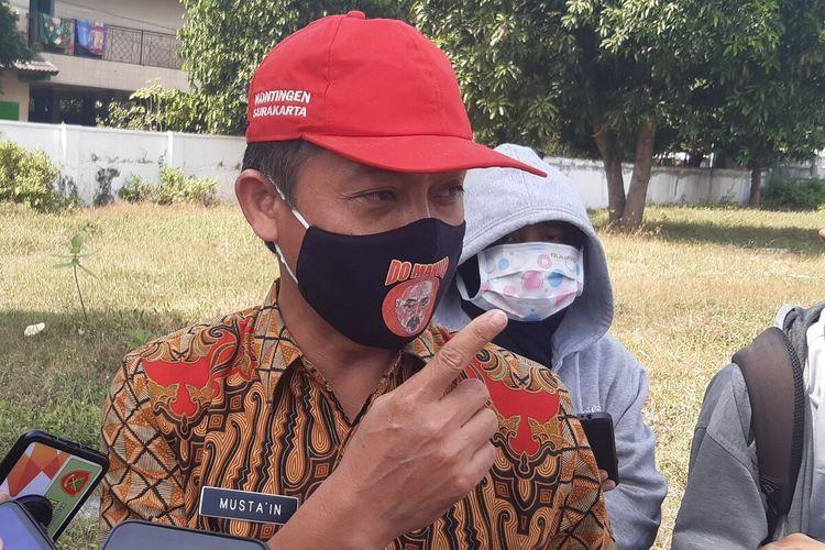 Kepala Kantor Kementerian Agama Solo, Mustain Ahmad di Solo, Jawa Tengah, Kamis (9/7/2020).