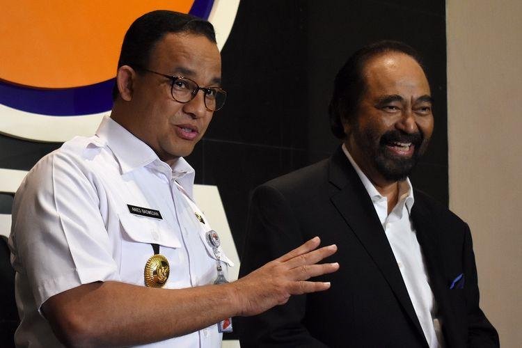 Ketua Umum Partai NasDem Surya Paloh. ANTARA FOTO/Fauzi Lamboka/wpa/wsj.