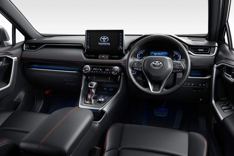 Ilustrasi Toyota RAV4 PHV