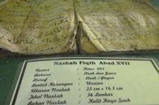 Al Quran Kuno di Candi Cangkuang dari Kulit Pohon Saeh