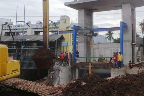 Pintu Air Manggarai yang Baru Ditargetkan Mampu Kurangi Banjir Jakarta