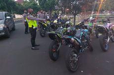 Ugal-ugalan di Jalan Raya, Puluhan Anggota Klub Motor Trail Ditangkap