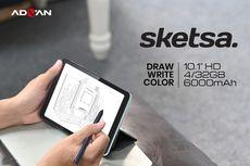 Advan Luncurkan Tab Sketsa, Komputer Tablet 10 Inci dengan Stylus