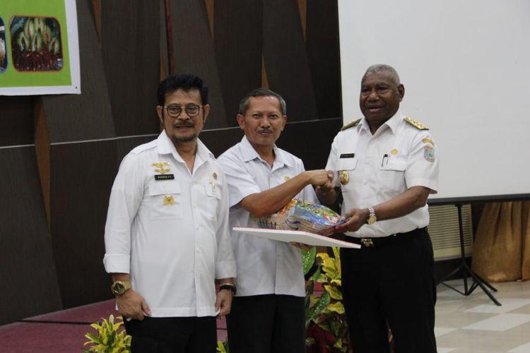 Mentan Siap Dukung Kemajuan Papua Barat Melalui Sektor Pertanian