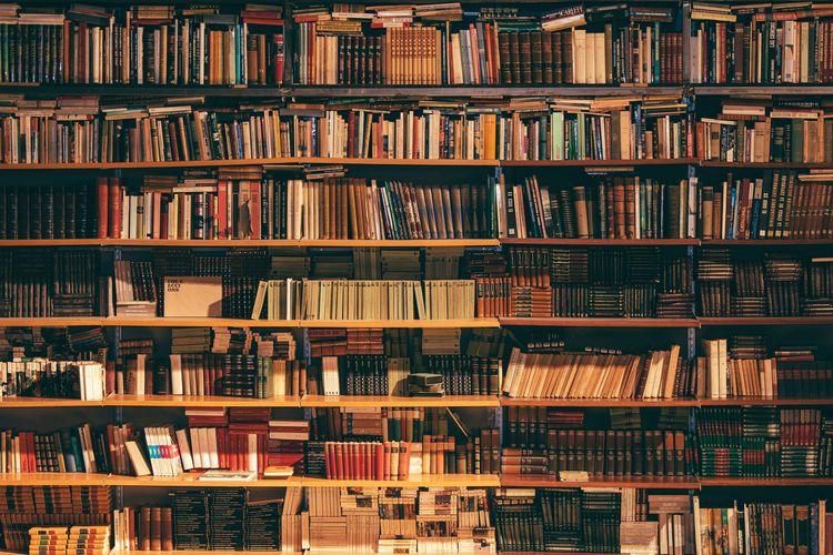 Ilustrasi perpustakaan terbesar dan termegah di dunia