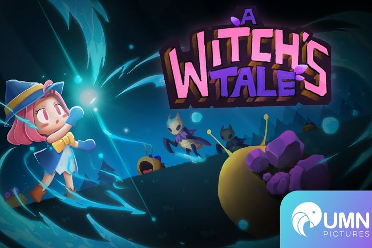 Ilustrasi A Witch's Tale, sebuah game karya studio game lokal asal Indonesia UMN Pictures Game Studio