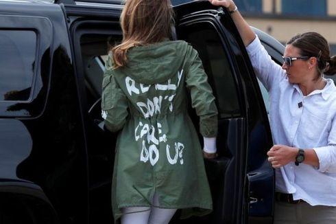 Jaket Melania dan Beragam Momen Ikonik Lainnya Selama Trump Berkuasa