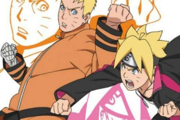 Naruto melawan Boruto