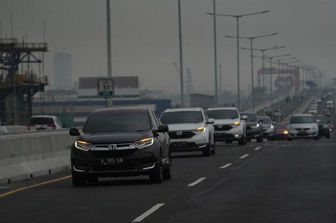 Perdana Coba Tol Layang Japek Pakai Honda CR-V [VIDEO]