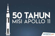 INFOGRAFIK: 50 Tahun Misi Apollo 11