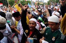 Sorakan Massa Aksi 212 untuk Politisi PDI-P