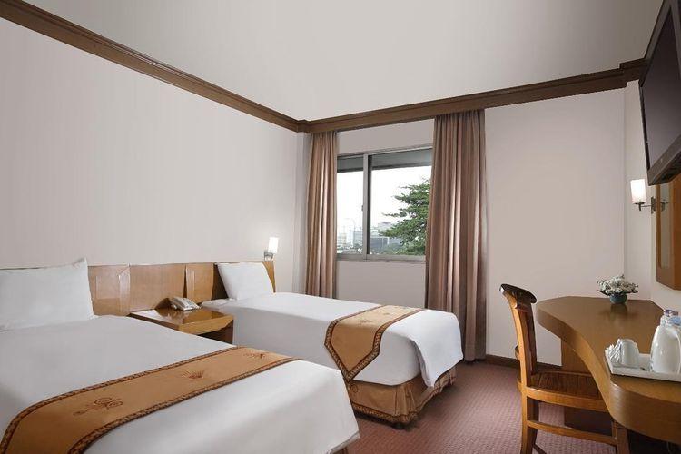 Kamar Deluxe Twin Hotel Patra Comfort Jakarta