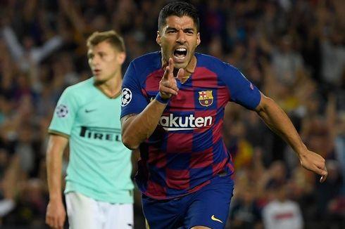 Barcelona Vs Inter, Suarez Sebut Barca Favorit Juara Liga Champions