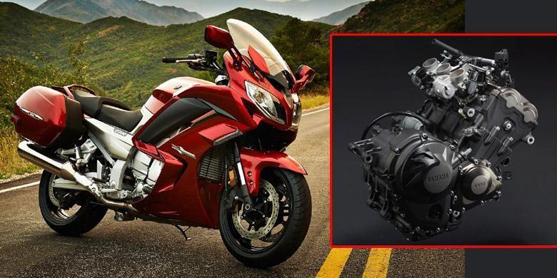 Yamaha FJR 1300ES, model sport touring Yamaha. Disinyalir FJ-09 akan menjadi adiknya dengan mesin 3 silinder.