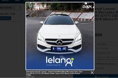 Lelang Sedan Mercedes-Benz CLA 200, Limit Rp 200 Jutaan