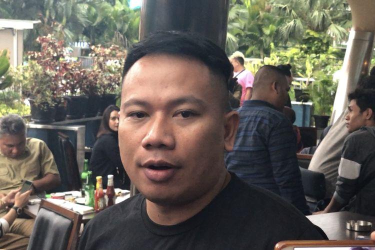 Vicky Prasetyo saat dijumpai di kawasan SCBD, Jakarta Selatan, Rabu (11/12/2019).
