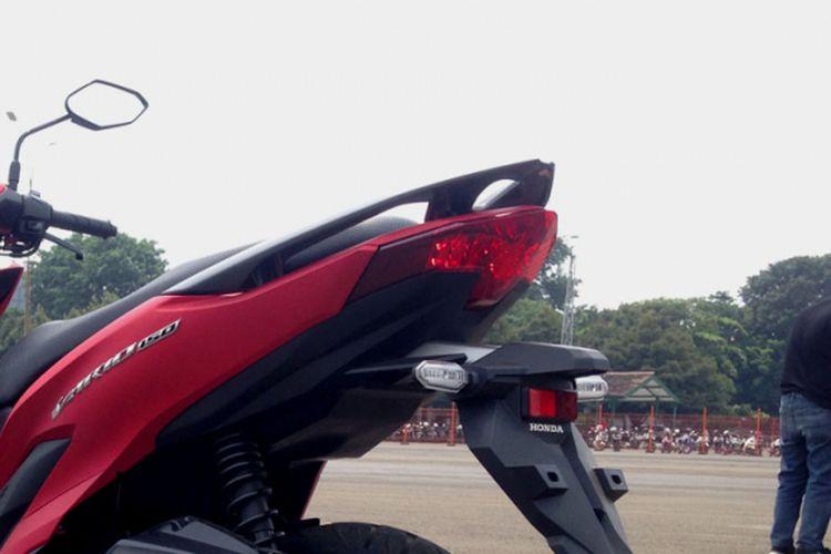 Honda Vario 150 terbaru tanpa kick starter.