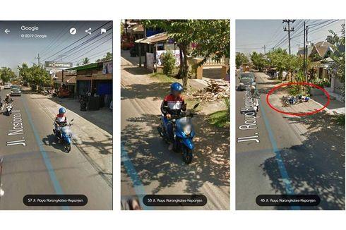 Google Maps Perlihatkan Pria Jatuh dari Motor Saat Main HP, Ini Kata Polri