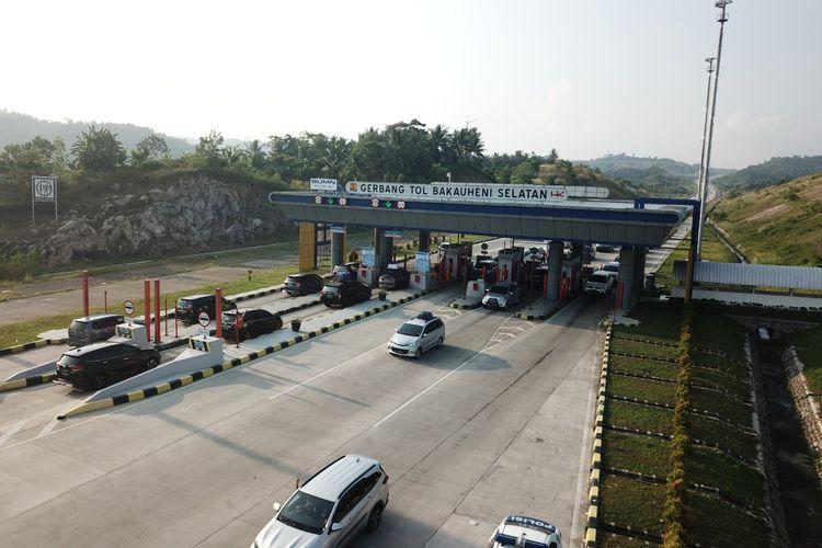 Gerbang Tol Bakauheni Selatan, Jalan Tol Trans-Sumatera