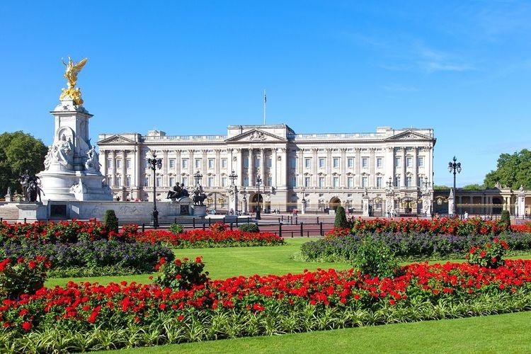 Ilustrasi Buckingham Palace