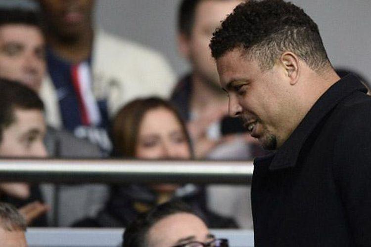 Striker legendaris Brasil berjuluk Il Phenomenon, Ronaldo Luis Nazario de Lima.
