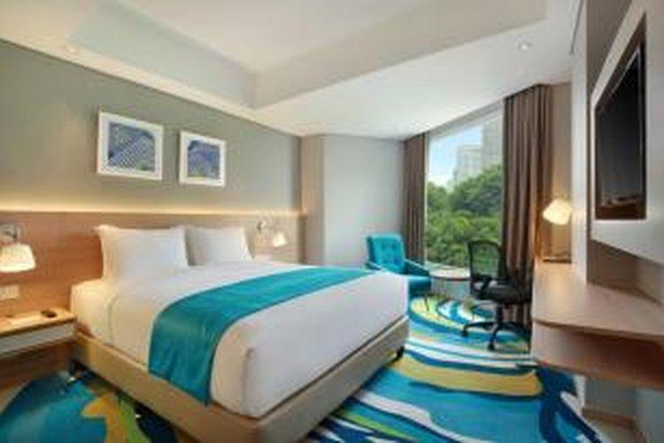 Kamar di Holiday Inn Express Jakarta Wahid Hasyim
