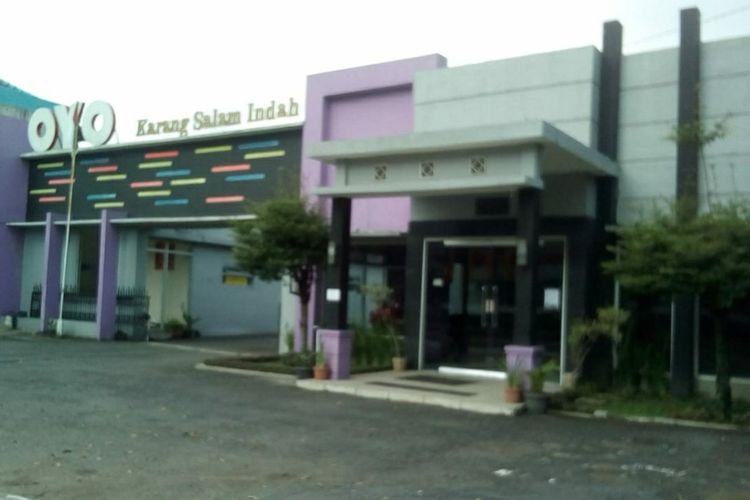 Salah satu hotel yang digunakan untuk karantina bagi pemudik di Kabupaten Banyumas, Jawa Tengah.